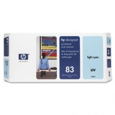 PRINTHEAD + CLEANER HP C4964A (83) Light Cyan UV Original