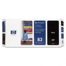 PRINTHEAD + CLEANER HP C4960A (83) Black UV Original