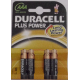 BATERIJA Duracell Plus Power (alkalna) AAA 4/1